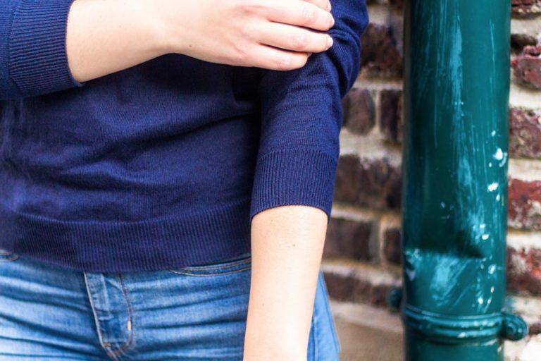 Pull en coton biologique Les Trois tricoteurs