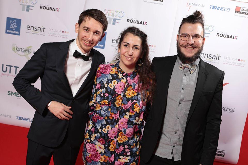 Photo des 3T au gala de l'ENSAIT