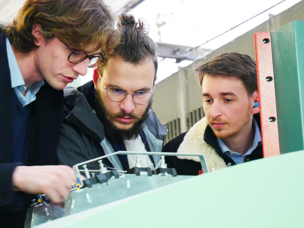 Alex et Victor avec MFT Caudry - Viesly